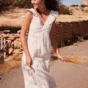 Sezane Midi-length Sleeveless Dress NWT